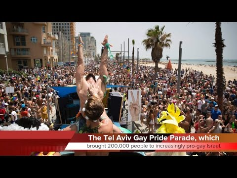 KTF News - 200,000 Attend Middle East's Biggest Gay Pride Parade