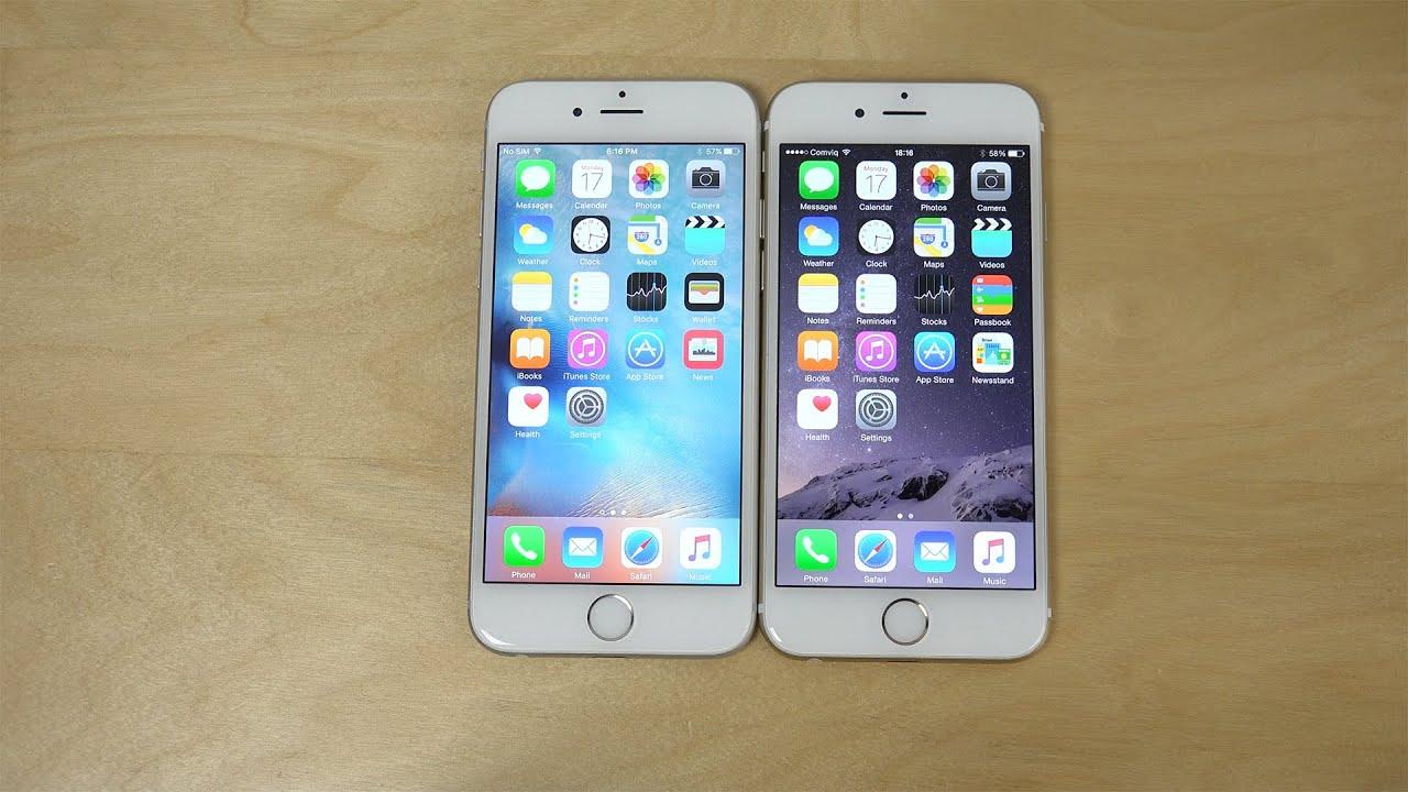 IPhone 6 IOS 9 Beta 5 Vs 841