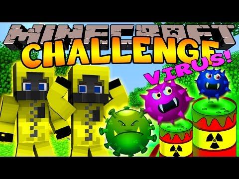 Minecraft Challenge - VIRUS INFECTION  [4]