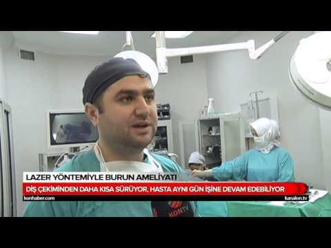Konya Akademi Hastanesi Op. Dr. Muhammet Keskin Lazerli Burun Ameliyatı