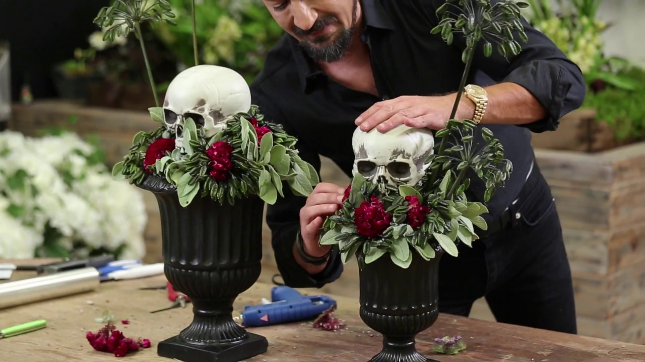 halloween skulls arrangement youtube