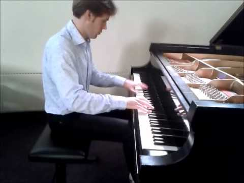 Schubert-Liszt, Das Wandern,played by Bas Verheijden