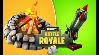 *NEW* BOTTLE ROCKETS & ENVIRONMENTAL CAMPFIRE! UPDATE 7.30 - FORTNITE BATTLE ROYALE LIVE