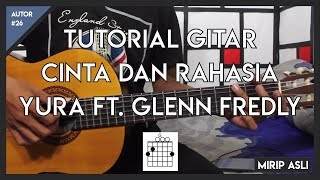 Video Tutorial Gitar (CINTA DAN RAHASIA-YURA FT. GLENN FREDLY) LENGKAP FULL download MP3, 3GP, MP4, WEBM, AVI, FLV September 2018