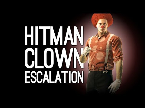 Hitman Clown Baseball Bat Escalation: Let's Play The Corky Commotion