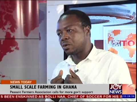Small Scale Farming in Ghana - Joy News Today 15 Oct 2014