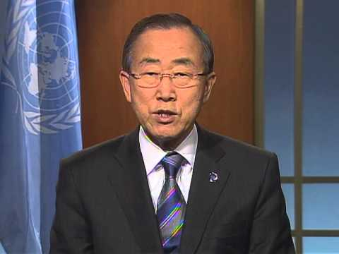 Support for Malala Yousafzai and girls' education - UN Secretary-General Ban Ki-moon message