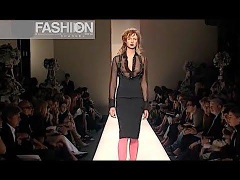 MOSCHINO Spring Summer 2001 Milan - Fashion Channel