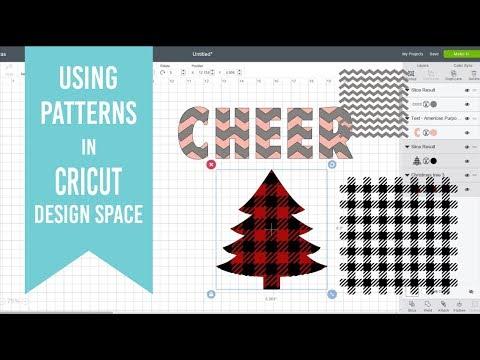 Using Patterns In Cricut Design Space Custom Cricut Patterns