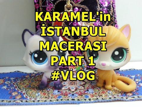 LPS Minişler Karamel`in İstanbul Yolculuğu #Vlog Video / Karamel TV