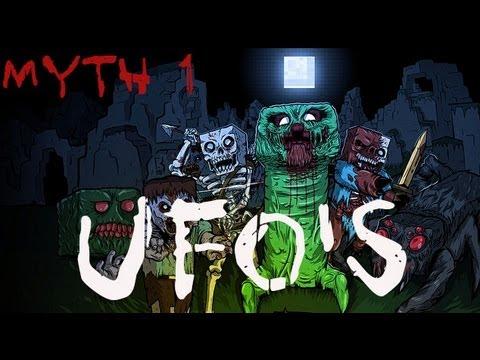 Minecraft Myth Investigations Myth 1 : UFO's