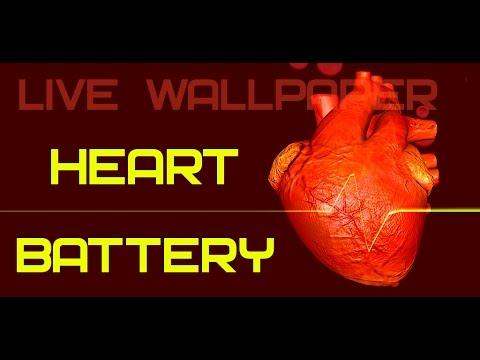 Heart Battery Live Wallpaper