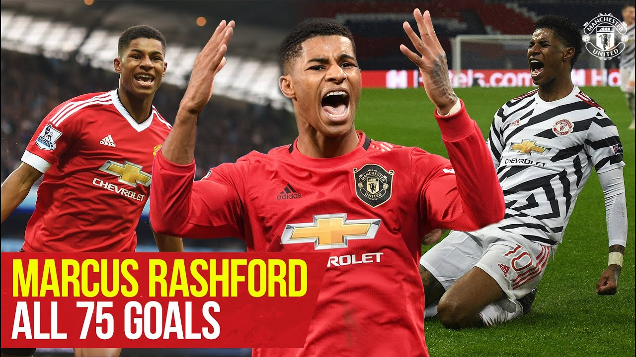 Download Marcus Rashford reaches 75 goals for Manchester United | Every Goal