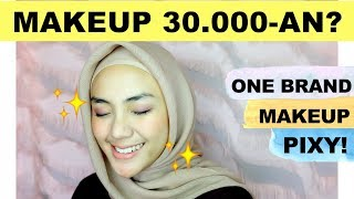 PIXY ONE BRAND MAKEUP TUTORIAL | Makeup Murah | Tutorial Makeup Pemula | raniekarlina