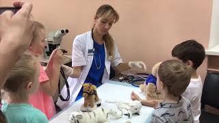 Экскурсия в ветеринарной клинике