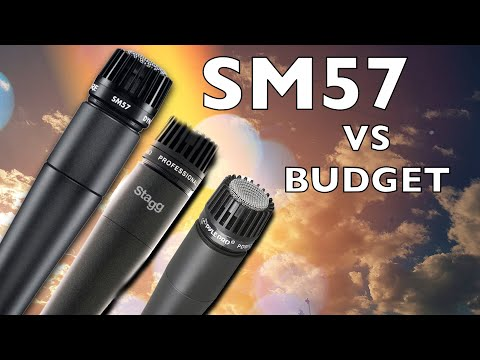 Shure SM57 VS Stagg SDM70 VS Pyle-Pro PDMIC78 - Microphone