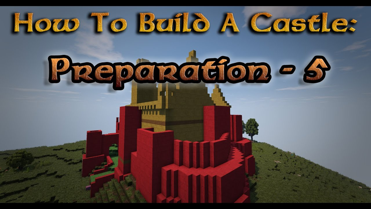 how to build a castle minecraft dukonred1