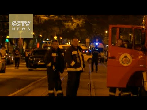 Two policemen injured in Budapest explosion