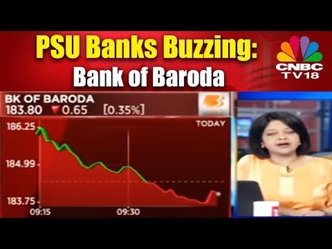 PSU Banks Buzzing: Bank of Baroda - Bazaar Corporate Radar - CNBC TV18 - 동영상