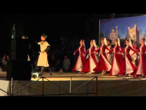 Государственный ансамбль  народной песни и танца Республики Абхазии под руководством Василия Царгуш