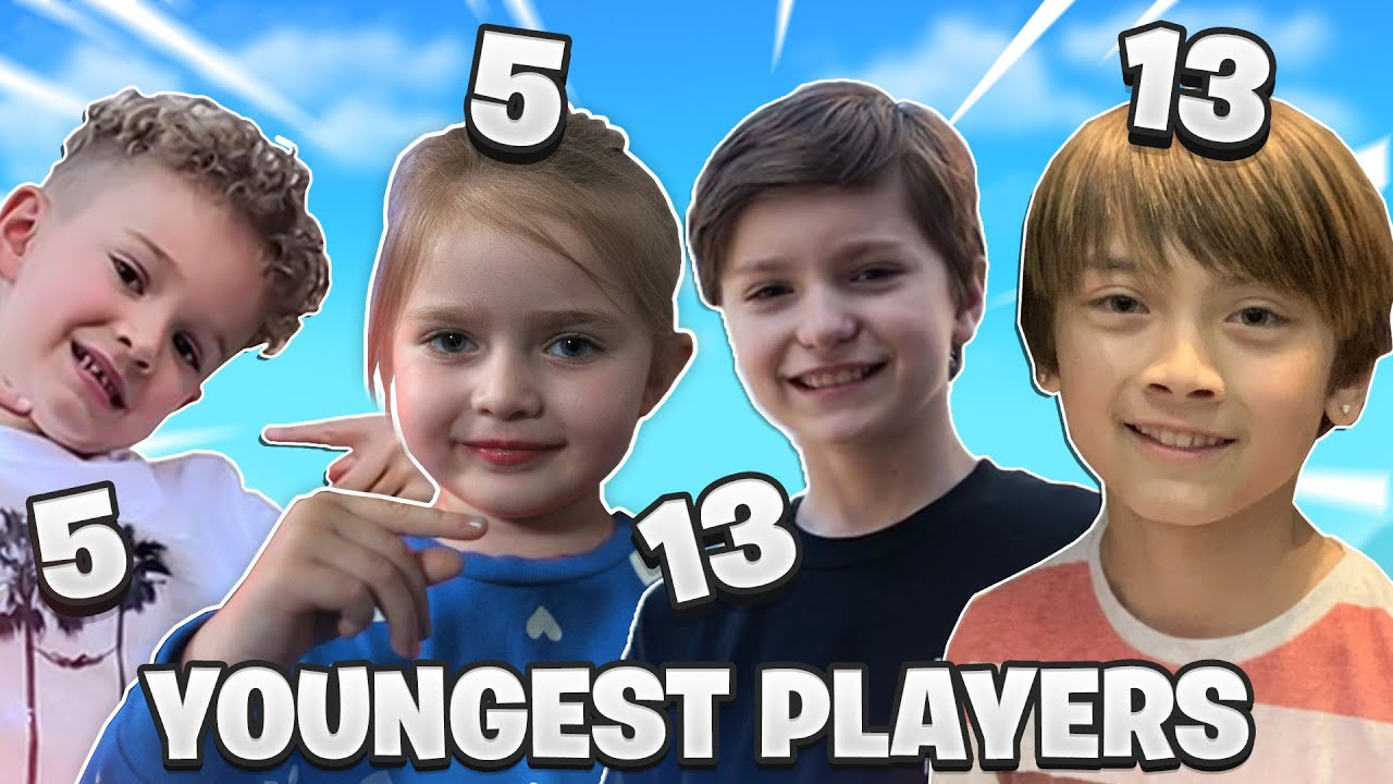 Youngest PRO FORTNITE Players EVER Squad Up! *CRAZY TRICKSHOTS*