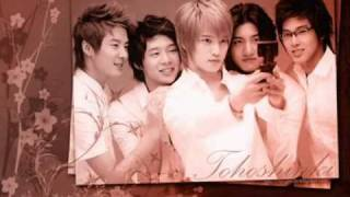 DBSK whatever they say instrumental version w/ lyrics