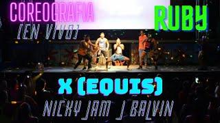 Nicky Jam x J. Balvin - X (EQUIS) | Coreo by Ruby Zumba | Show en vivo | En Zumba Night