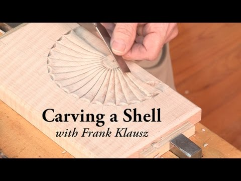 Carving a Shell, with Frank Klausz