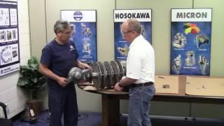 Bearing Installation on the Mikro Pulver