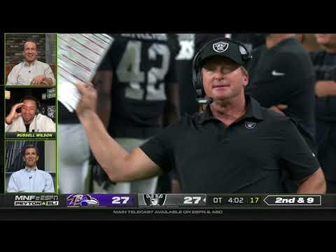 Ravens vs. Raiders INSANE Ending FULL Overtime: Peyton & Eli Manning, Russell Wilson React