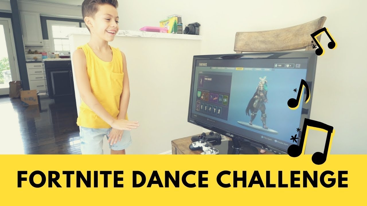 Fortnite Dance Challenge [Fornite Funny Moments]