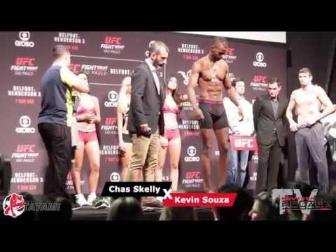 TV Pegada #0004 - UFC SP - Belfort vs Henderson 3 - Pesagem Oficial