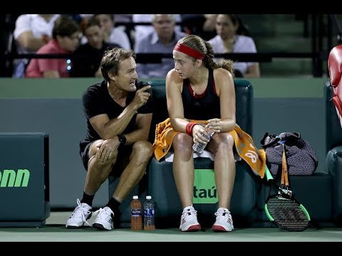 Jelena Ostapenko's coach David Tayloron her return to Roland Garros