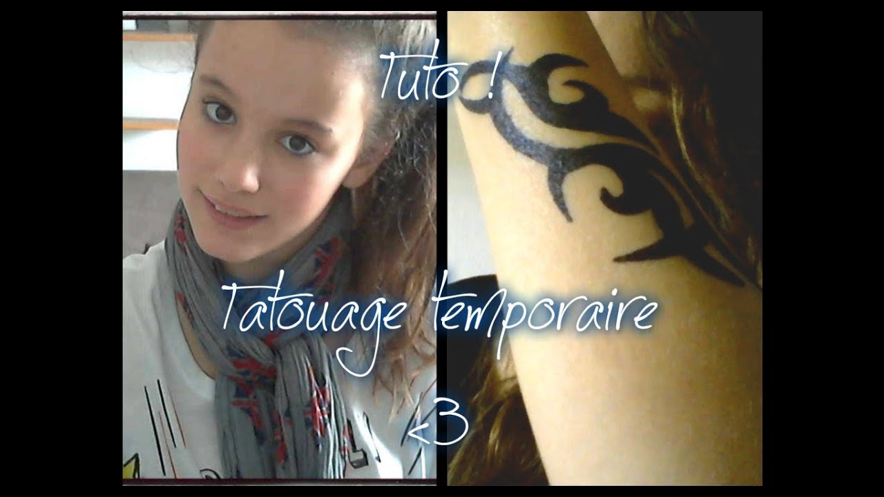 Faire Son Desherbant Total Tuto 1 Faire Son Tatouage Temporaire Avec Miya Youtube