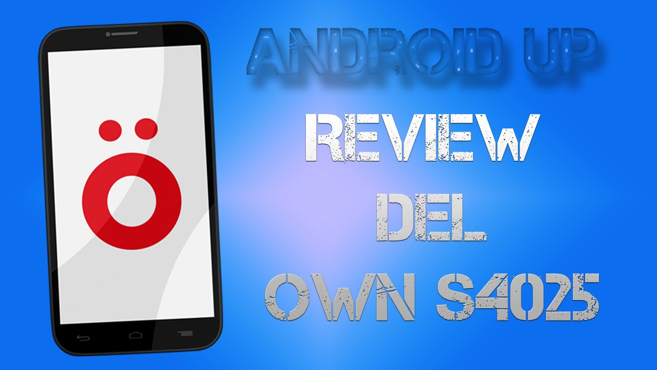 f63f43fcf8a Review del own s4025 - YouTube