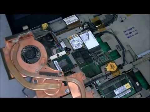 ThinkPad T60p ■ Cleaning CPU FAN