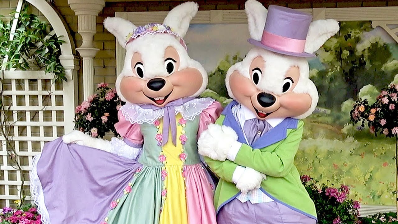 Mr mrs easter bunny meet and greet at the magic kingdom walt mr mrs easter bunny meet and greet at the magic kingdom walt disney world 2018 autographed egg m4hsunfo