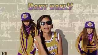 "BABY KAELY ""LETS DO IT"" KID RAPPER FT. BGIRL GOLDI ROX AND ARIAH BABY WOCKEE"