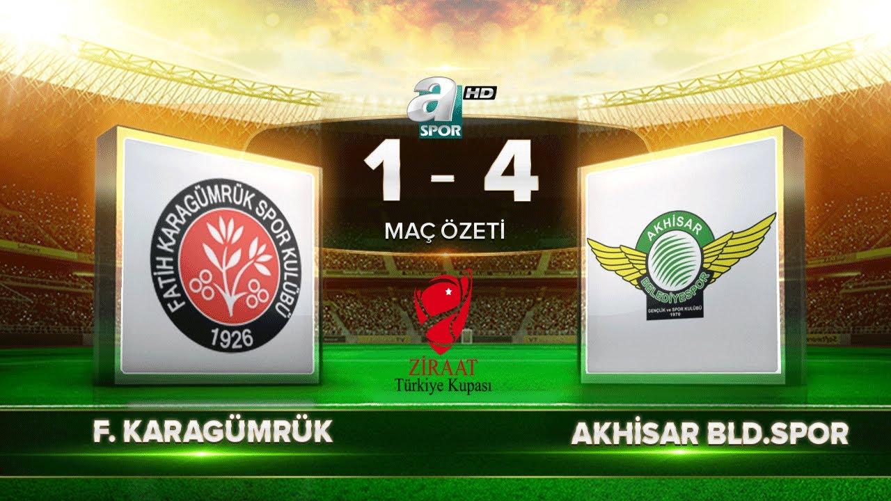 Fatih Karagümrük 1-4 Akhisarspor | Maç Özeti