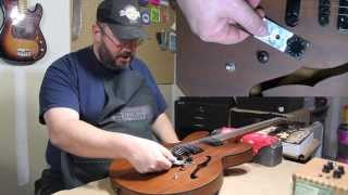EPIPHONE DOT STUDIO pot problem | RATTLECAN GUITAR RESTORATIONS by James  O'Rear - YouTubeYouTube