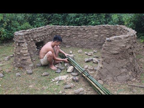 Primitive Technology: Stone House Part 10