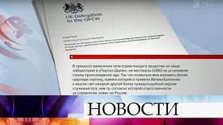 В прессу попали первые данные с закрытого заседания исполнительного совета ОЗХО в Гааге.