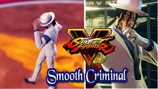 Street Fighter 5 mods Micheal Jackson Smooth Criminal