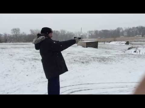 Target Practice At The Colfax Gun Club Colfax Iowa Youtube