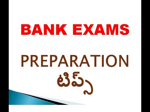 HOW TO GET A BANK JOB || bank exams preparation strategy IN TELUGU