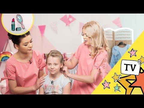 Dwie Super Fryzury Do Szkoły Kącik Piękna Dla Dziewczynek