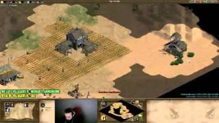 Age of empires II - OGN VS TOMATENFRESSER - ARABIA HUNS WAR