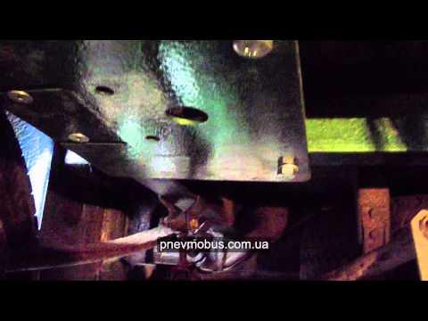 Установка пневмоподвески на автомобиль MERCEDES Sprinter 316