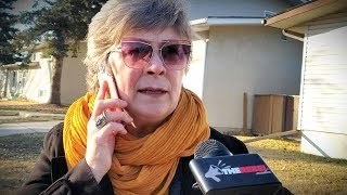 Communist NDP candidate Anne McGrath calls police on Rebel reporter