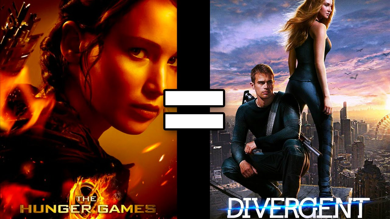 24 Reasons The Hunger Games Divergent Are The Same Movie Youtube